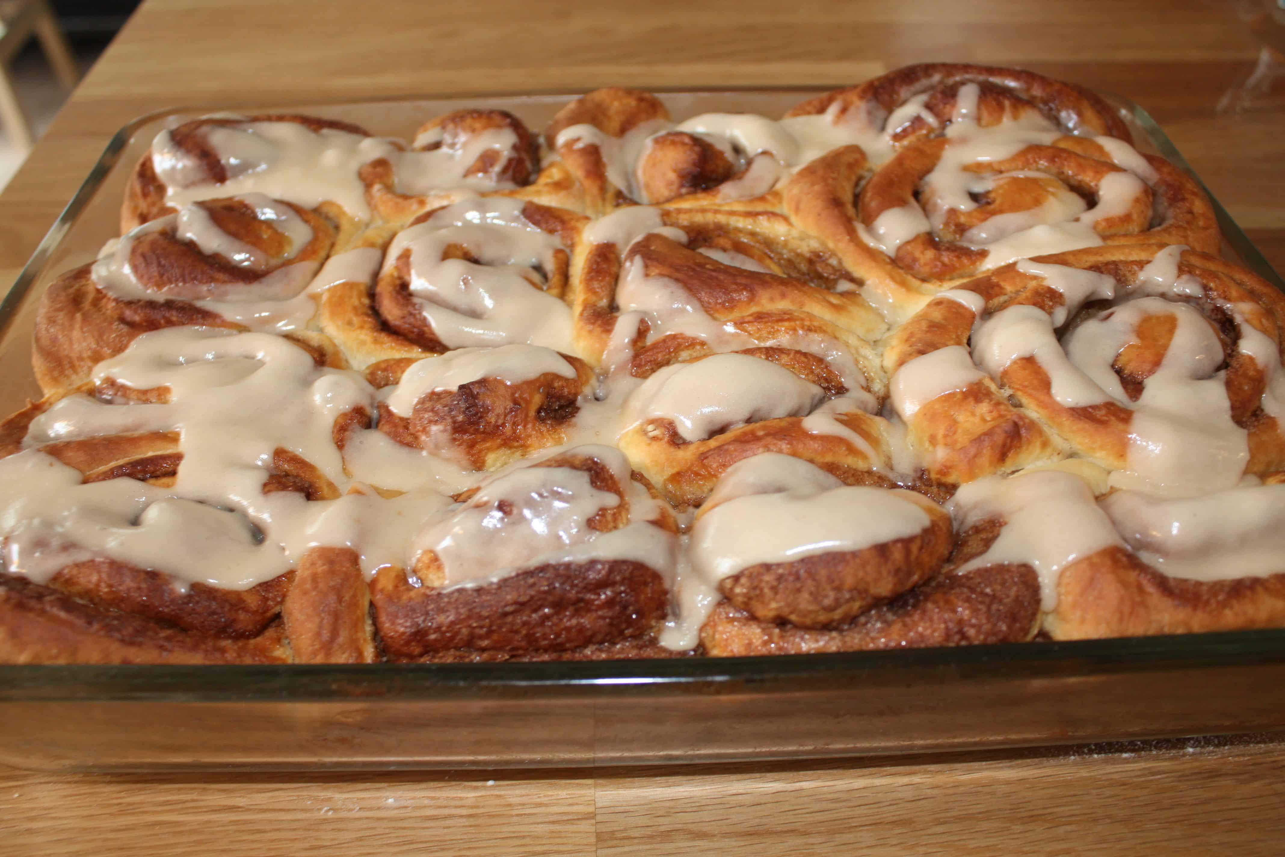 Kanelsnegle – Cinnamon rolls