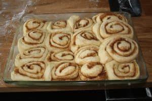 kanelsnegle, cinnamon rolls