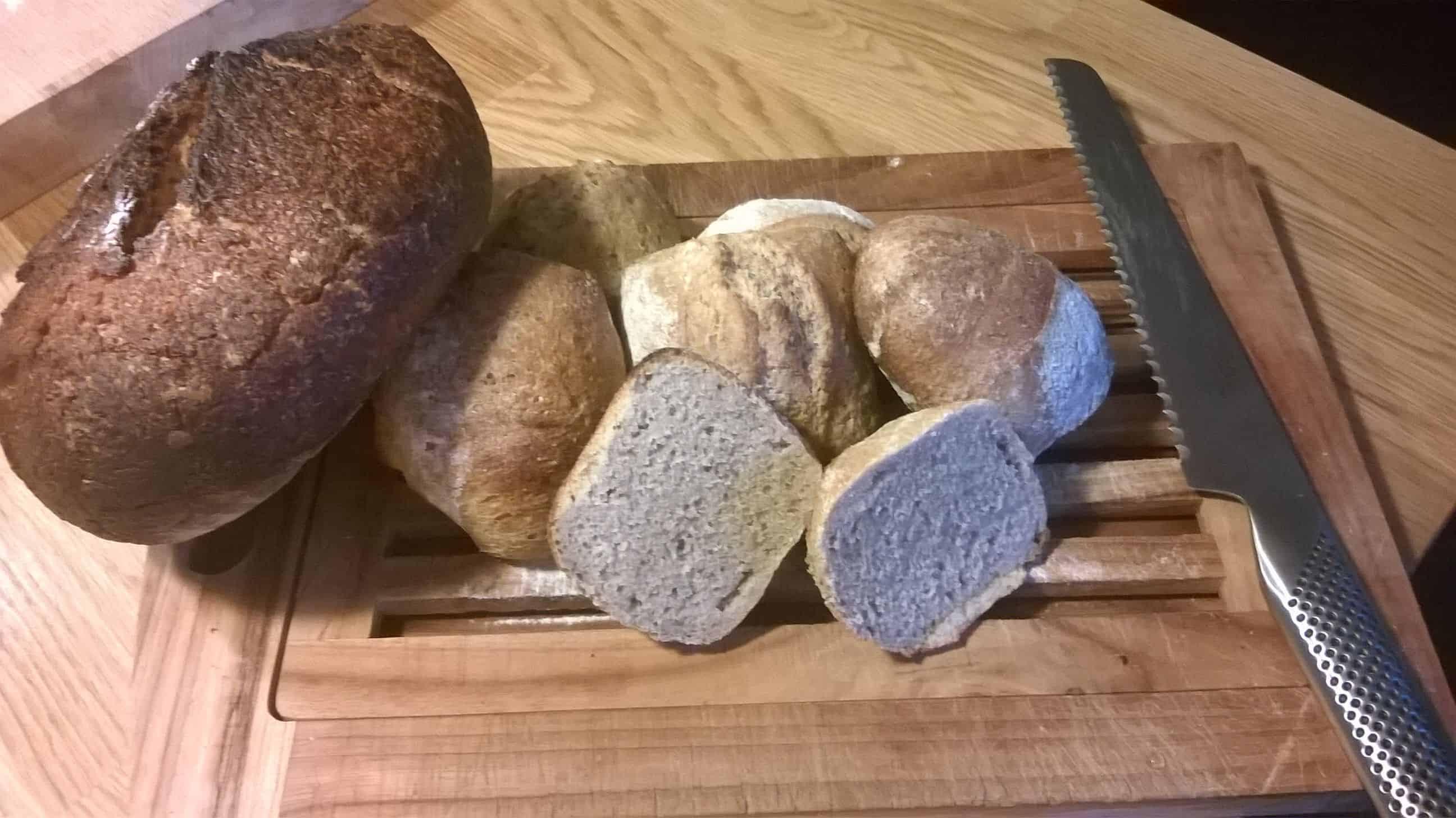 Møllerens brød – hvedemel, fuldkornsmel og rugmel
