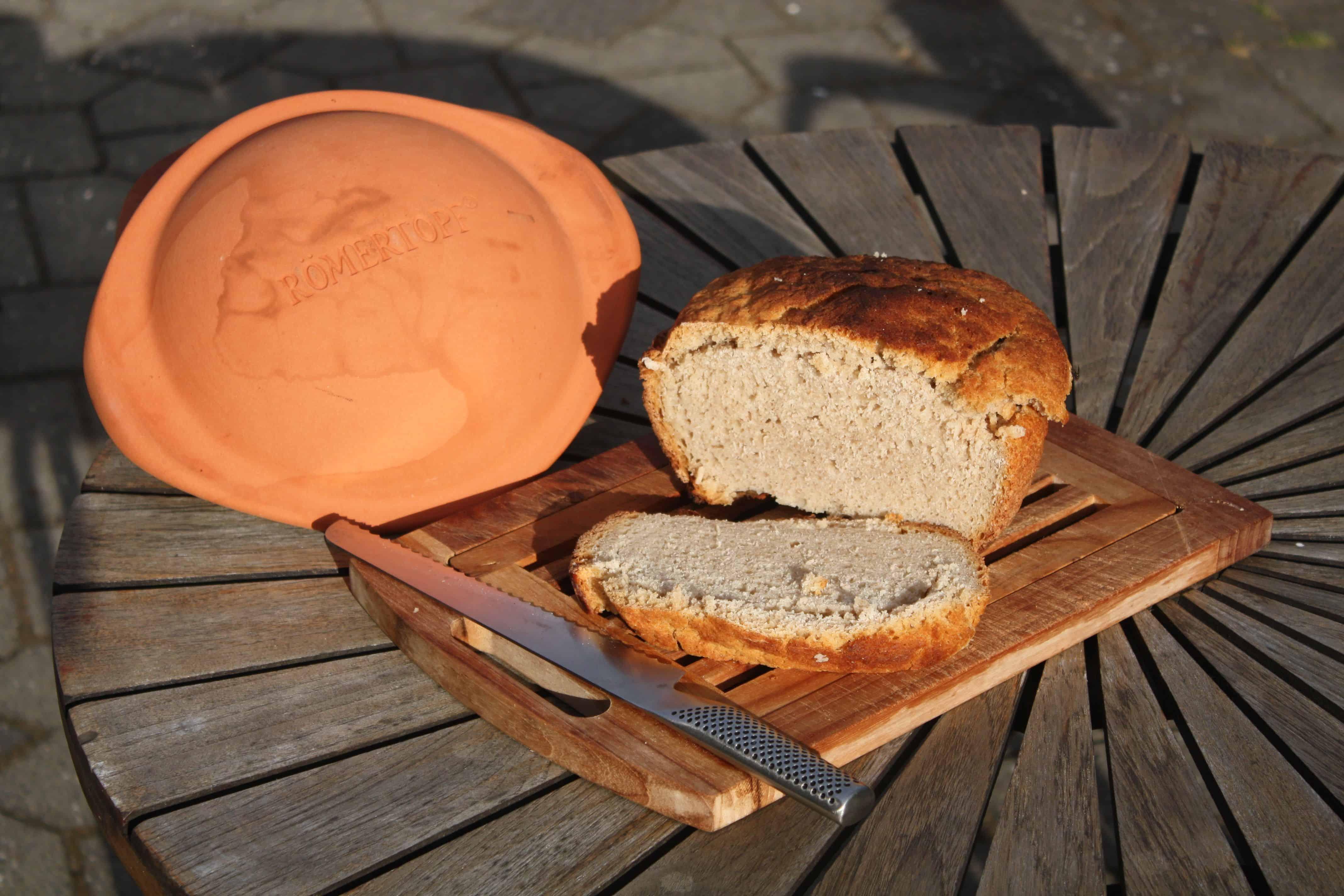 Durum brød bagt i stegeso