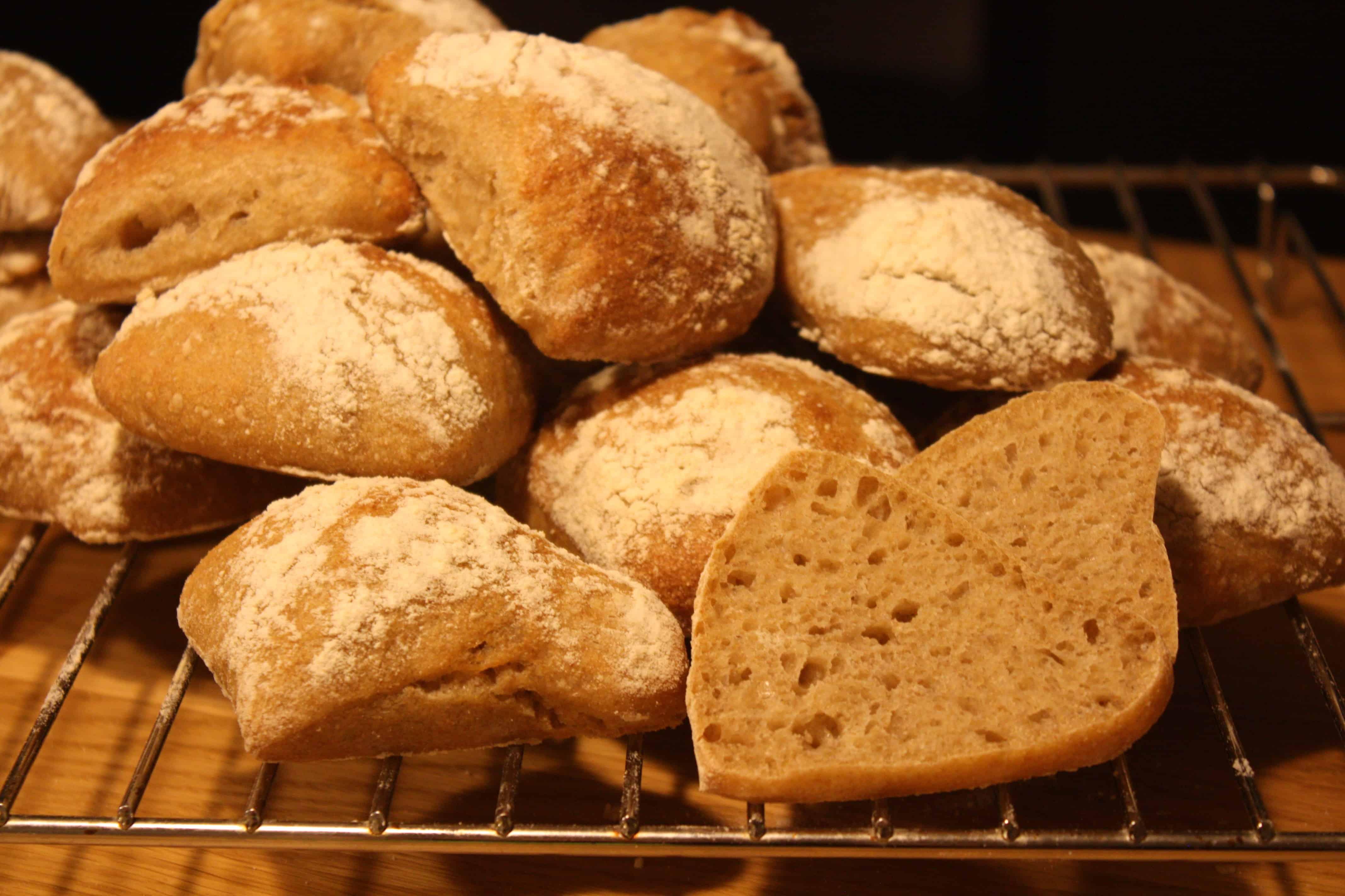 Enkorns brød med spelt