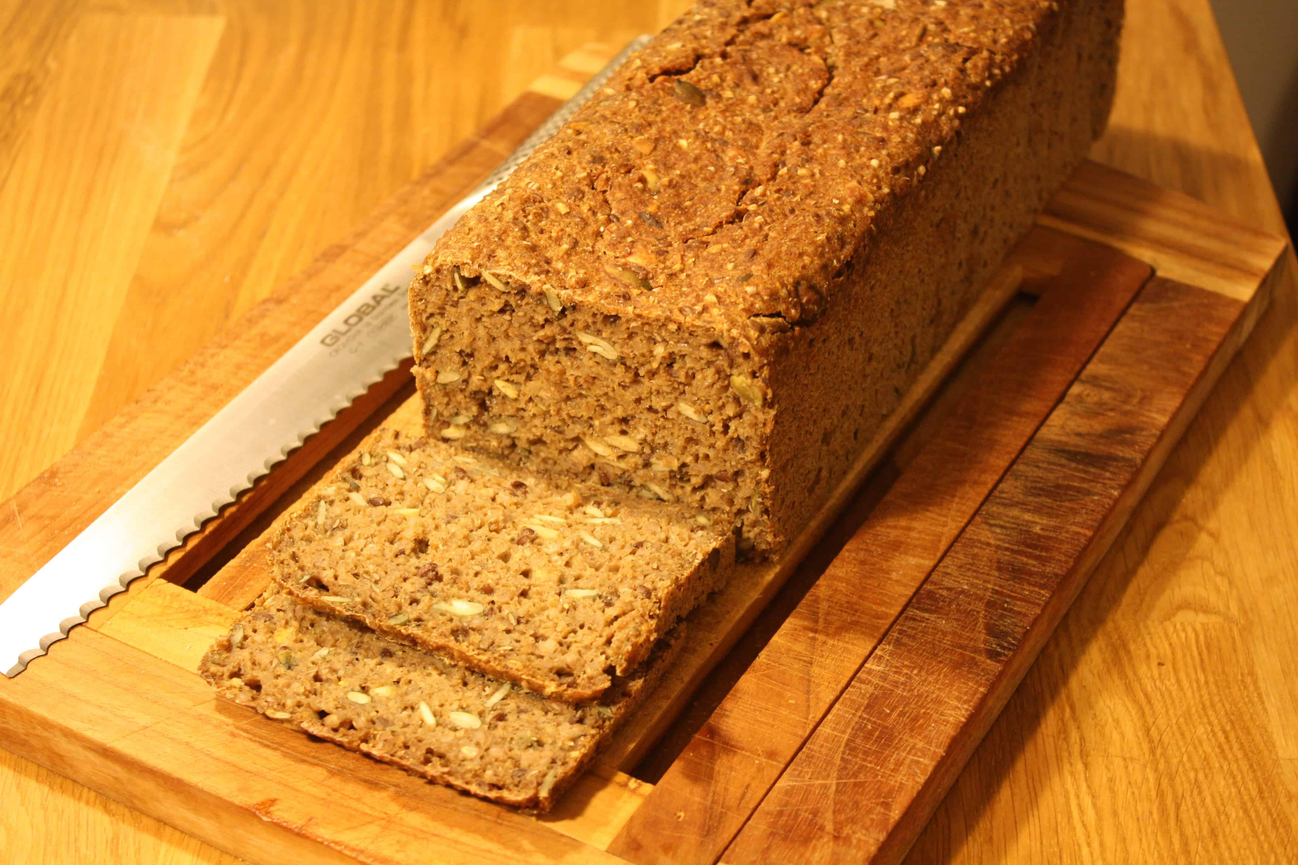 Rugbrød med kerner og 75% fuldkorn
