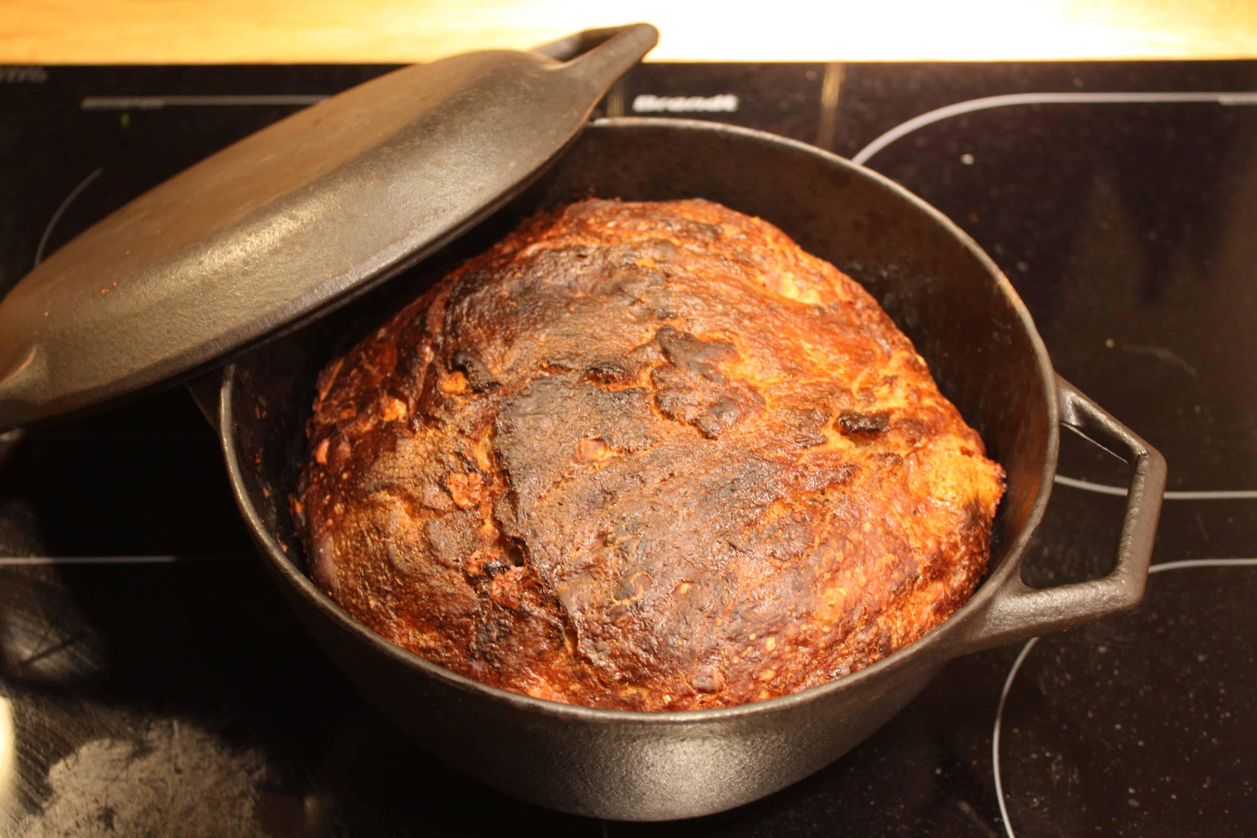 Madbrød med parmesan og peber
