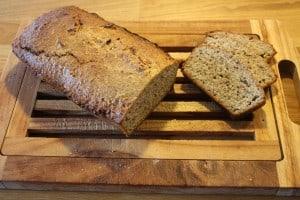 Glutenfri brød på nøddemel